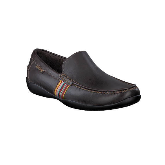 Mocassins IDRIS marron