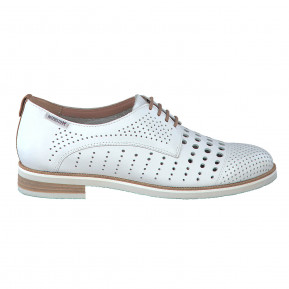 Derbies PEARL PERF blancs
