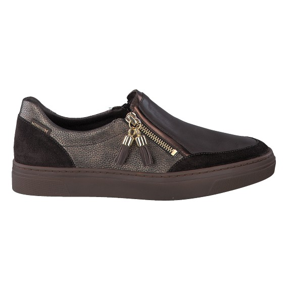 Sneakers ALBINA marron