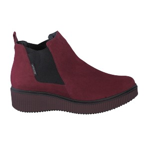 Bottines EMIE rouges