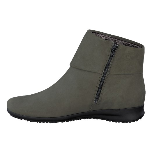 Bottines FIDUCIA kaki