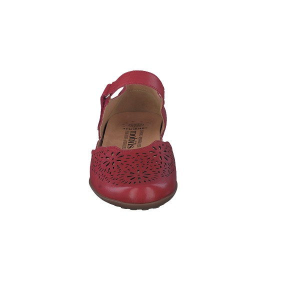 Ballerines FLORINA PERF rouges