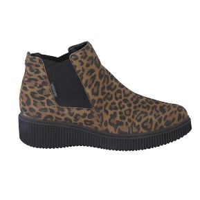 Bottine EMIE LEOPARDO Marron